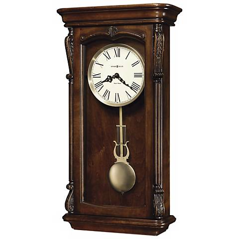 "Howard Miller Henderson 25"" High Wall Clock"