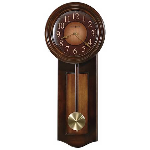 "Howard Miller Avery 27 1/2"" High Wall Clock"