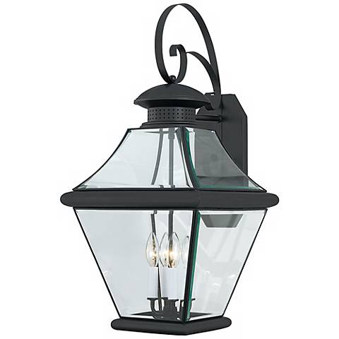 """Rutledge Collection Black 29"""" High Outdoor Wall Light"""