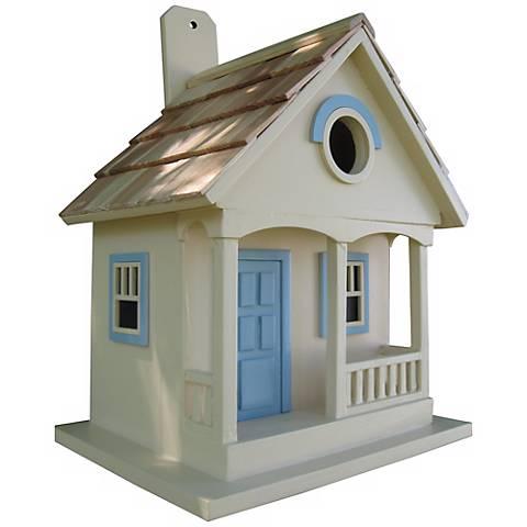 Yellow Pacific Grove Bird House