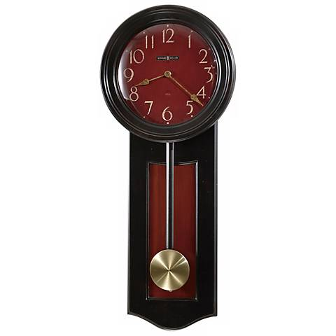 "Howard Miller Alexi 27 1/2"" High Wall Clock"