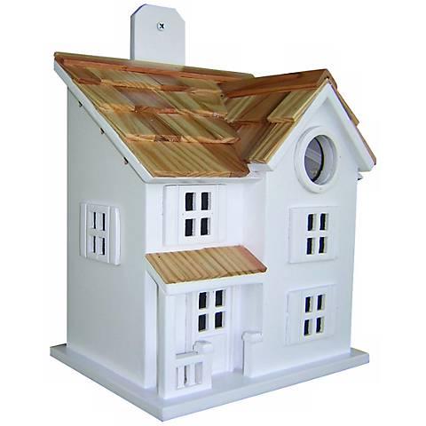 Townhouse White Bird House