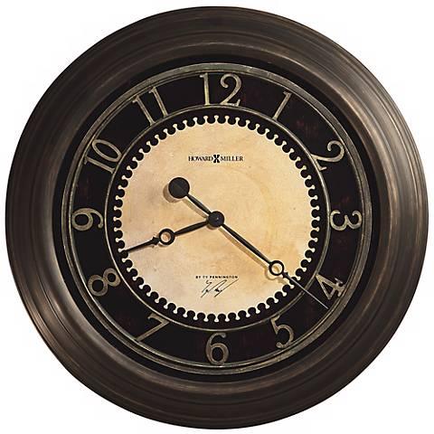 "Howard Miller Ty Pennington Chadwick 25"" Wide Wall Clock"