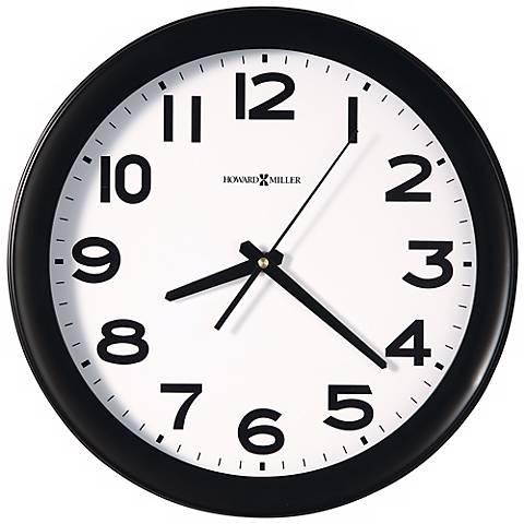 """Howard Miller Kenwick 13 1/2"""" Wide Wall Clock"""