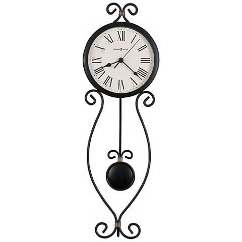 """Howard Miller Ivana 24 1/2"""" High Wall Clock"""
