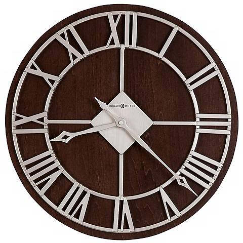 "Howard Miller 15"" Wide Prichard Wall Clock"