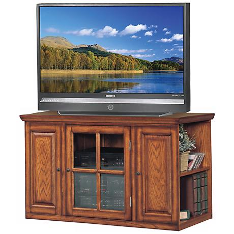 """Burnished Oak 42"""" Wide Television Console"""