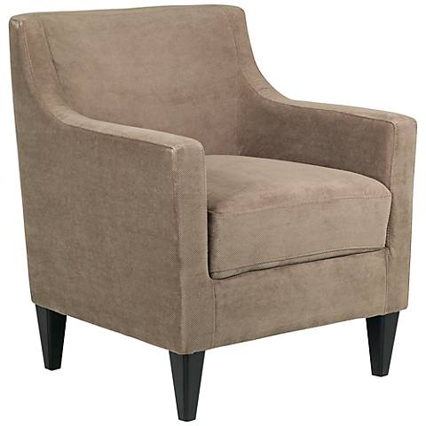 Griffin Camel Upholstered Armchair