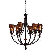 Uttermost Vitalia Collection 6-Light Chandelier