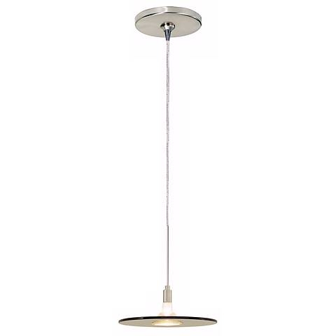 Biz Havana Brown Satin Nickel Tech Lighting Mini Pendant