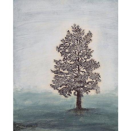 "Misty Memory II Giclee 30"" High Canvas Wall Art"