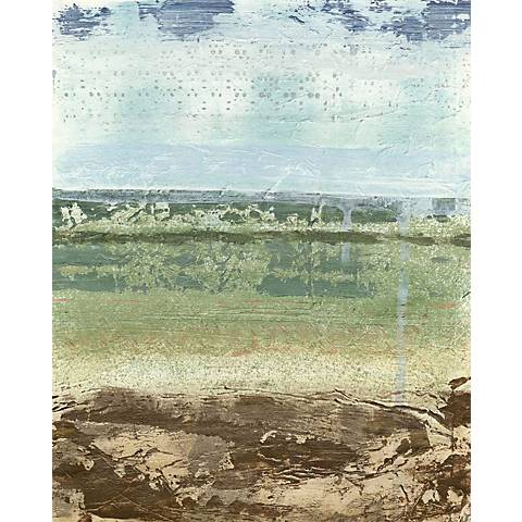 """Extracted Landscape II Giclee 30"""" High Canvas Wall Art"""