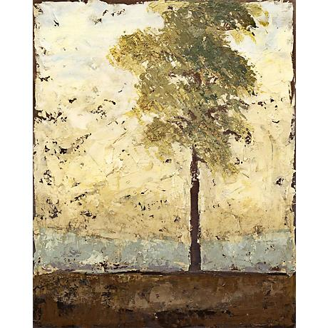 """Soliloquy Tree Giclee 40"""" High Canvas Wall Art"""