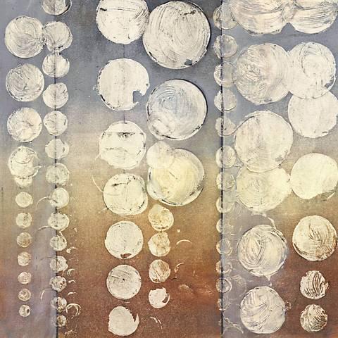 "Rain I Giclee 30"" Square Canvas Wall Art"