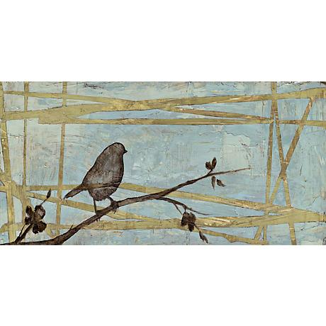 "Woodland Respite I Giclee 36"" Wide Canvas Wall Art"