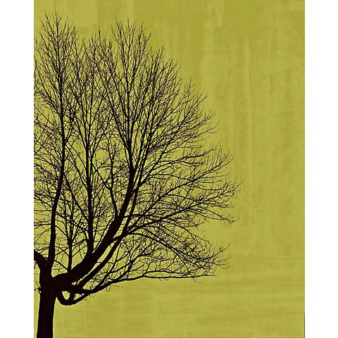 "Green Tree Poetry Center Giclee 24"" High Canvas Wall Art"