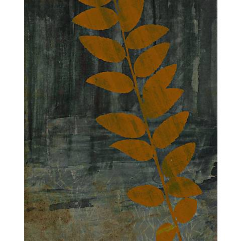 "Garden Collage 4 Giclee 24"" High Canvas Wall Art"