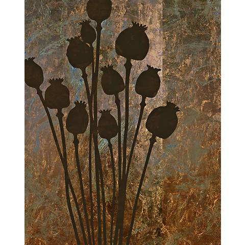 "Garden Collage 6 Giclee 24"" High Canvas Wall Art"