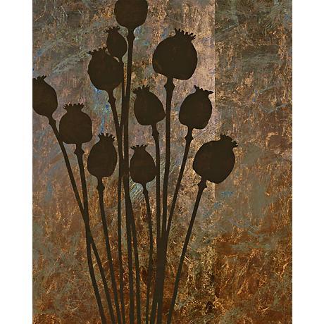"Garden Collage 6 Giclee 24"" High Canvas Wall Art"