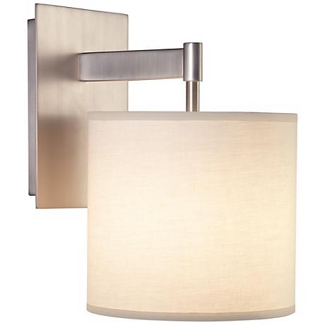robert abbey echo plug in wall sconce n1850 lamps plus. Black Bedroom Furniture Sets. Home Design Ideas