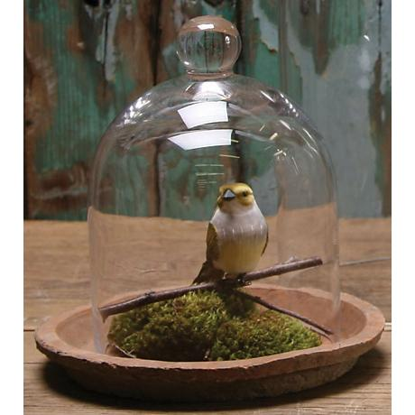 """Small Bell Jar 8"""" High Glass Dome"""