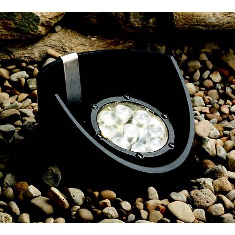 Kichler Black Finish LED Landscape Well Light