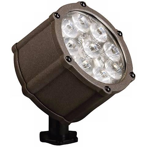 Kichler Bronze LED 10 Degree Landscape Spot Light
