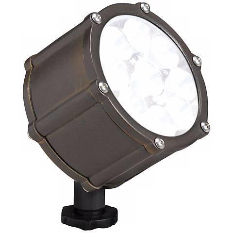 Kichler Bronze LED 35 Degree Landscape Flood Light