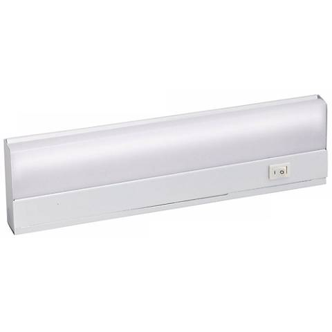 "White Direct Wire Fluorescent 12"" Under Cabinet Light"
