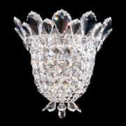 "Schonbek Trilliane 10 1/2"" High Swarovski Crystal Sconce"