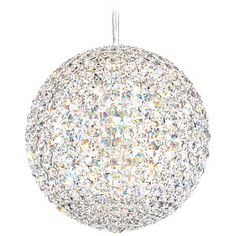"Schonbek Da Vinci Collection 12"" Wide Crystal Pendant Light"