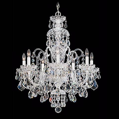"""Schonbek Olde World Collection 25"""" Wide Crystal Chandelier"""