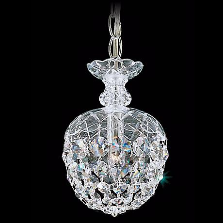 "Schonbek Olde World Collection 6"" Crystal Mini Pendant Light"