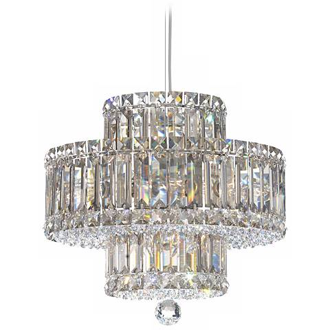 Schonbek Plaza 9-Light Swarovski Crystal Pendant Chandelier