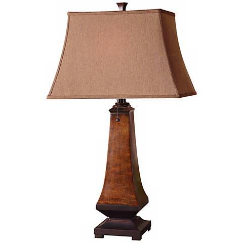 uttermost caldaro oil rubbed bronze table lamp n2906. Black Bedroom Furniture Sets. Home Design Ideas