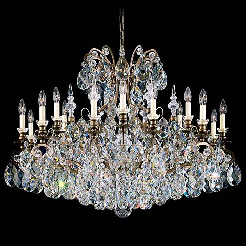 "Schonbek Renaissance Collection 40"" Wide Crystal Chandelier"
