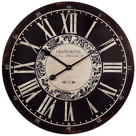 Grand Hotel Wall Clock