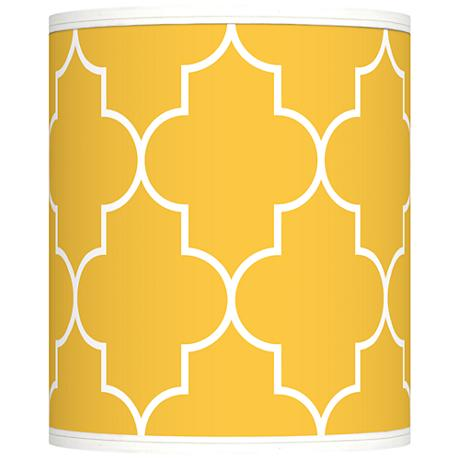 Tangier Yellow Giclee Shade 10x10x12 (Spider)
