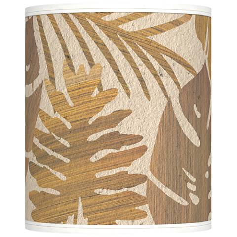 Tropical Woodwork Giclee Shade 10x10x12 (Spider)