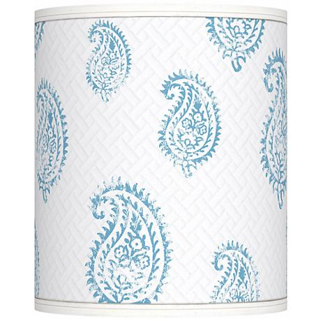Paisley Snow Giclee Shade 10x10x12 (Spider)