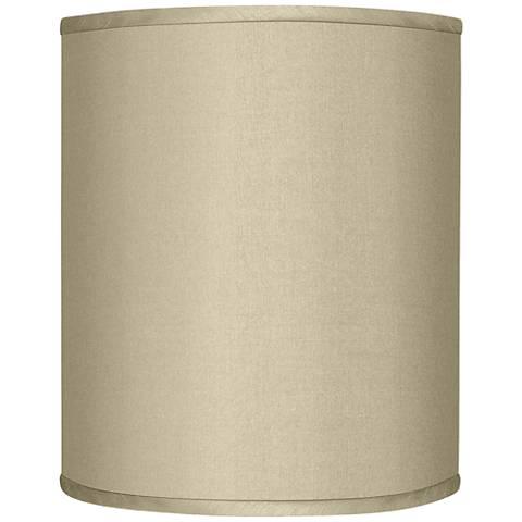 Chandelier Drum Shade: Sesame Faux Silk Drum Shade 10x10x12 (Spider),Lighting