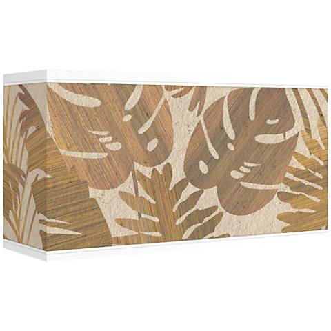 Tropical Woodwork Giclee Shade 8/17x8/17x10 (Spider)