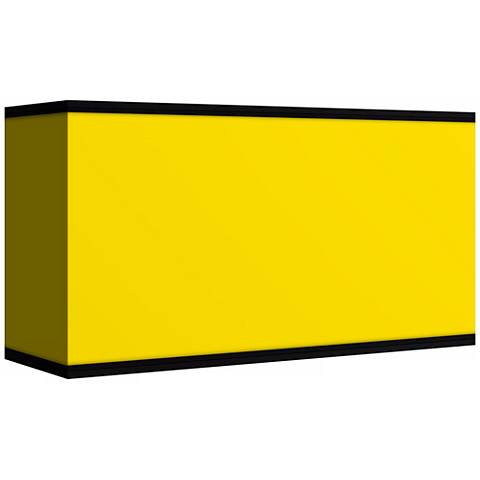 All Yellow Giclee Shade 8/17x8/17x10 (Spider)