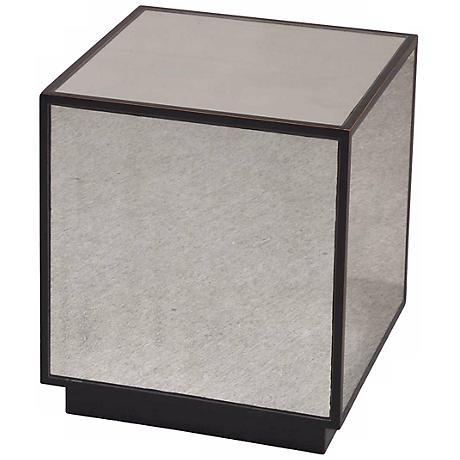 Uttermost Matty Mirrored Cube