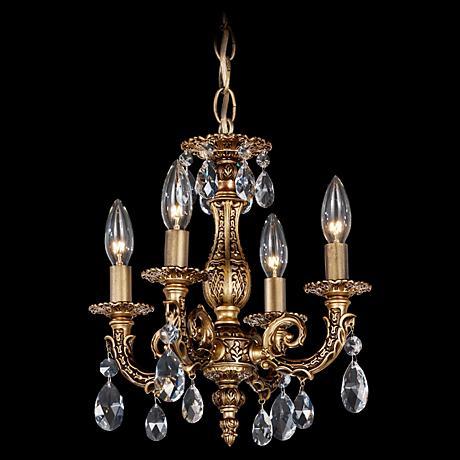 Schonbek Milano Collection Mini Crystal Chandelier