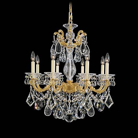 Schonbek La Scala Collection 8-Light Crystal Chandelier
