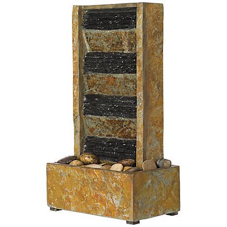 """Slate 18"""" High Tabletop Fountain"""
