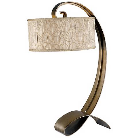 Remy Smoke Bronze Table Lamp