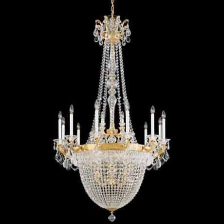Schonbek La Scala 25 W Heritage Crystal 8Light Chandelier – La Scala Chandelier