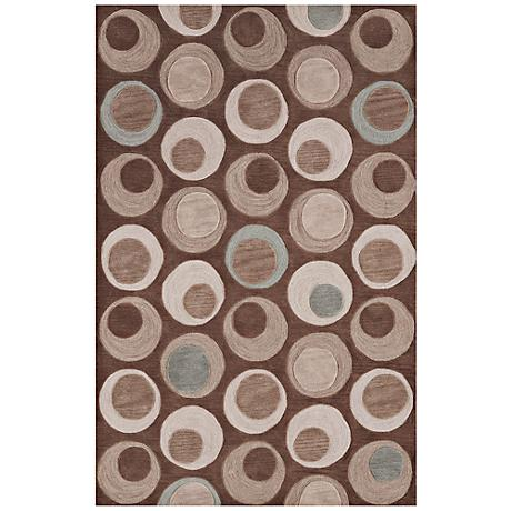 Dolce Taupe Area Rug